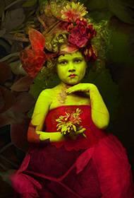 创意唯美人体艺术写真图片
