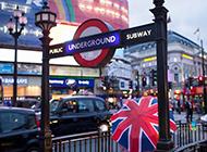 伦敦街道风景图片精美壁纸