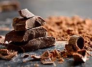巧克力美食原料鉴赏味道醇厚