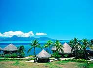 美丽的马尔代夫风景高清图片