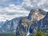约塞米蒂国家公园秀丽唯美风景图片