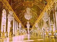 富丽堂皇的宫殿内景高清素材