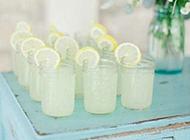 柠檬饮料图片冰爽解暑