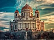 圣彼得堡迷人城市风景图片
