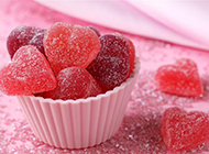 红色心形糖果图片甜蜜满分