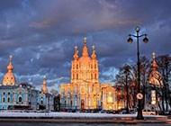 圣彼得堡都市风景高清素材