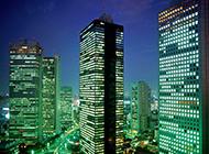 日本东京高清夜景风景图片