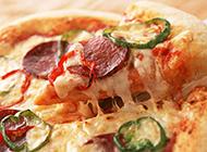 营养美食披萨饼高清图片