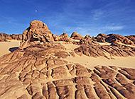 撒哈拉沙漠戈壁风光高清壁纸