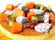 精致的水果蛋糕造型图片