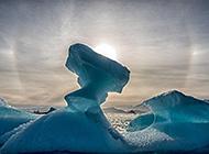 格陵兰岛巨型冰山高清图片