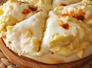 香甜可口的榴莲pizza美食图片