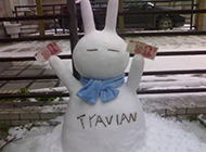 每日爆笑 雪人