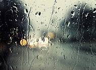 下雨天水滴风景图片清澈透明