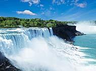 庐山瀑布梦幻自然风景高清壁纸