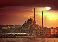 土耳其风景城堡建筑图片