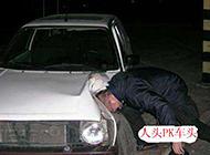 恶搞路人人头车头PK相片