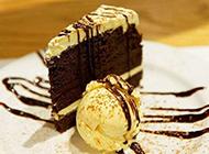 美味巧克力蛋糕味道浓郁