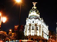 唯美马德里宫殿高清风景图片