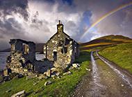 梦幻彩虹美丽风景图片高清壁纸