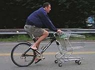 爆笑雷人的改装自行车图片