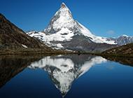 壮丽唯美的雪山自然风光图片