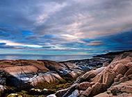 唯美自然海边礁石梦幻美景高清图集