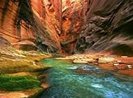 唯美大自然山脉风景桌面壁纸