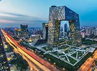 北京城市建筑风景图片时尚大气