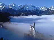 新天鹅城堡美丽风光高清图片