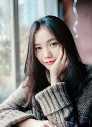 中国90后萌妹纸冬日甜美人体写真图片