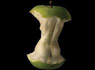 超级爆笑内涵图之吃苹果