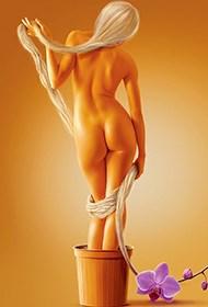 西方科幻式人体艺术写真