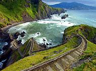 大自然唯美小路风景图片