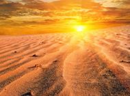 敦煌沙漠风景无垠宽广