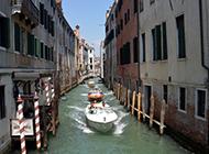 威尼斯水城浪漫都市旅游风景图片