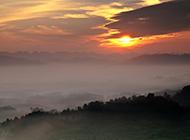 高清夕阳风景唯美摄影