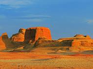 新疆乌尔禾魔鬼城风景高清图片