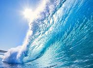 精选震撼唯美的海浪图片
