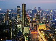 都市夜景壁纸灯光璀璨耀眼