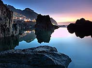 美丽幽静的湖畔风景高清组图