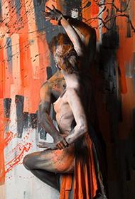 大师级概念人体彩绘摄影作品