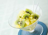 餐后甜品水果美食拼盘