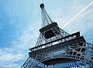 巴黎最高建筑物埃菲尔铁塔唯美图片
