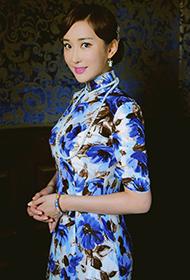 杜若溪复古民国旗袍尽展女人魅力