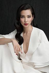 李冰冰卷发露背大展东方女性美