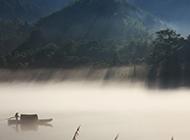 高清朦胧雨雾梦境摄影