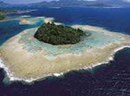 浪漫岛屿自然风光图片欣赏