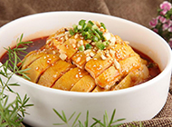 重庆川菜美食口水鸡鲜香麻辣