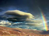 大自然山水彩虹风景图片唯美浪漫